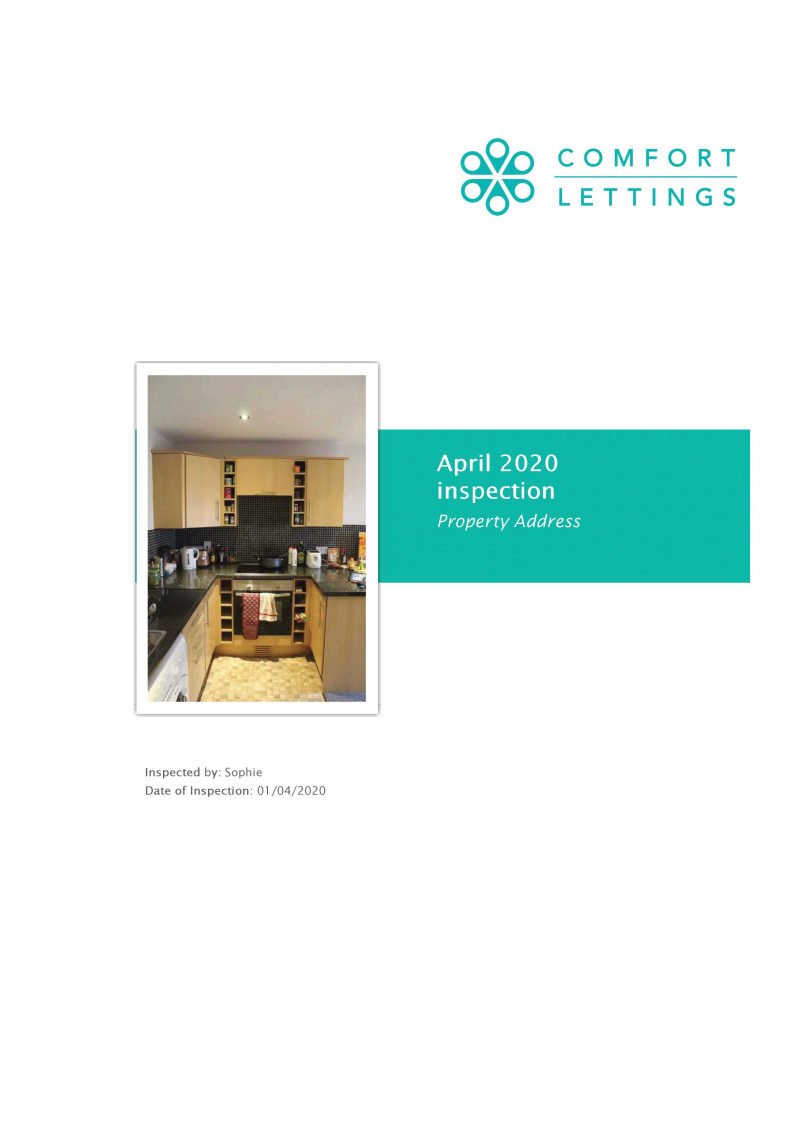 1 Harrowby Mews April 2020 Inspection 2